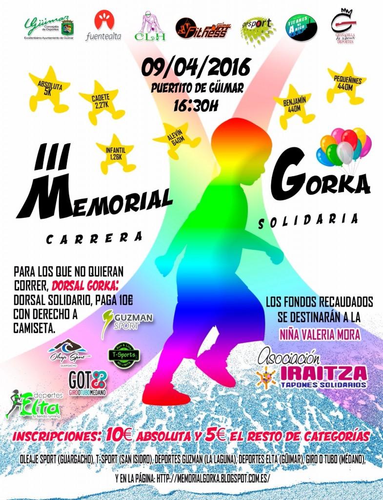 III Memorial Gorka - Carrera Solidaria