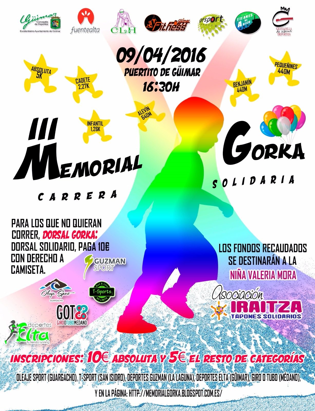III Memorial Gorka - Carrera Solidaria